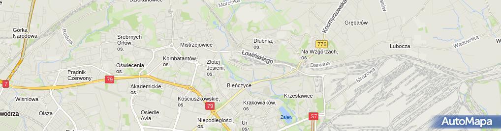 Zdjęcie satelitarne Hurtownia Artykułów Motoryzacyjnych