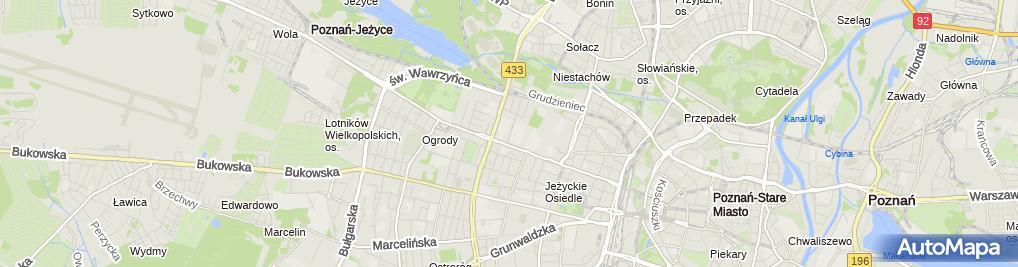 Zdjęcie satelitarne Kafal S.C. - Sklep z Częściami Do Samochodów Skoda