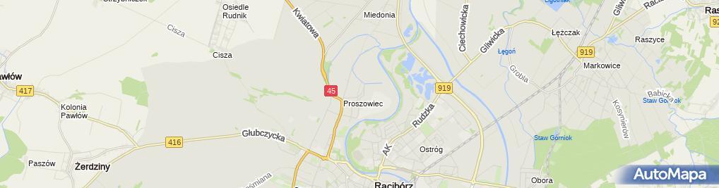 Zdjęcie satelitarne Mototrans S.C.