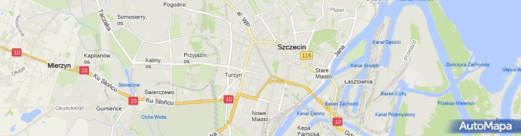 Zdjęcie satelitarne Sklep motoryzacyjny