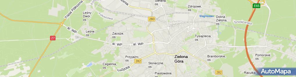 Zdjęcie satelitarne Teile.pl - Części Porsche