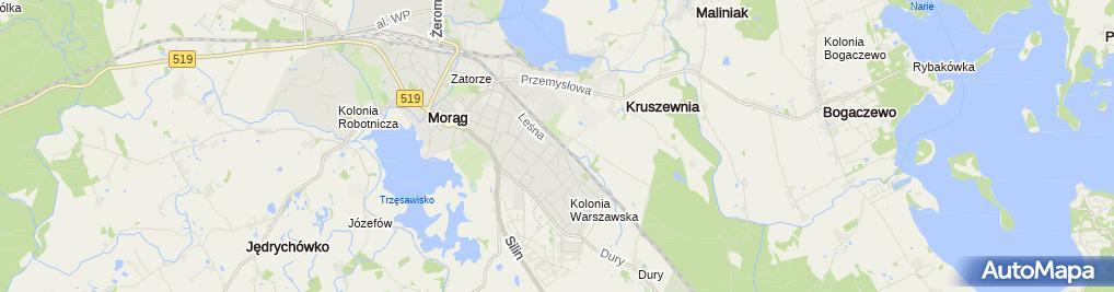 Zdjęcie satelitarne Auto Centrum. Kulesza W.