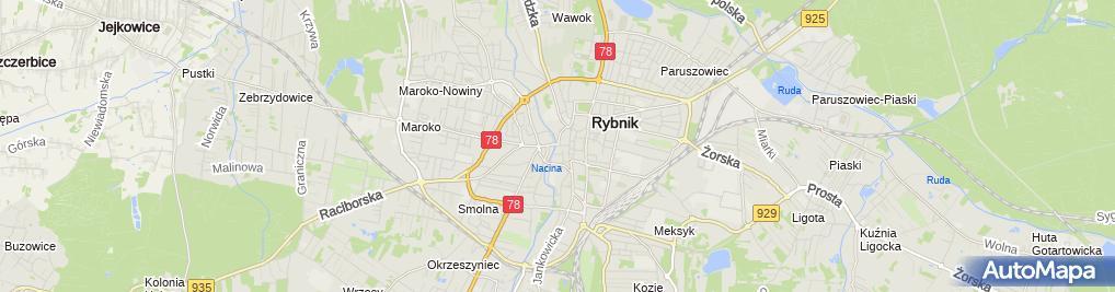 Zdjęcie satelitarne ROMA