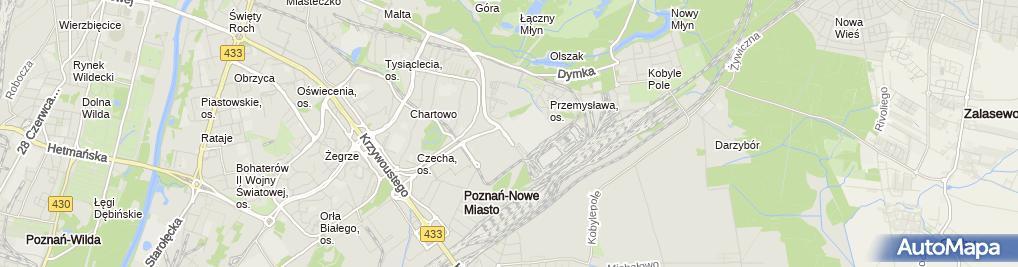 Zdjęcie satelitarne Kompania Piwowarska S.A.