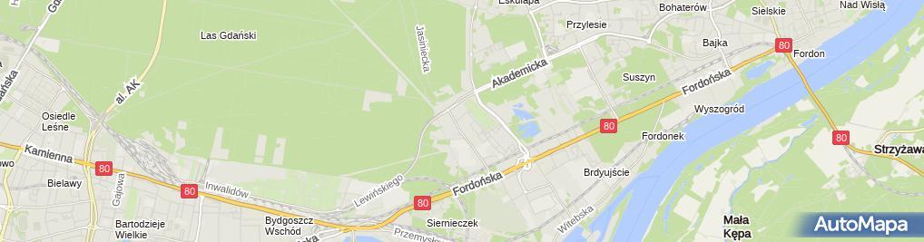 Zdjęcie satelitarne Decathlon - Sklep