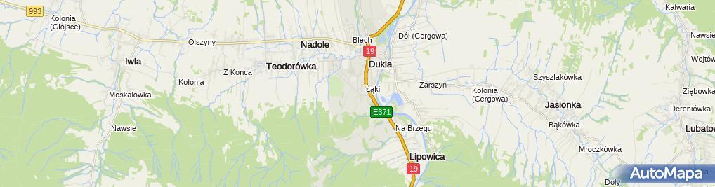 Zdjęcie satelitarne Masłowska Barbara