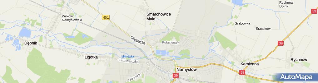 Zdjęcie satelitarne Dom dziecka
