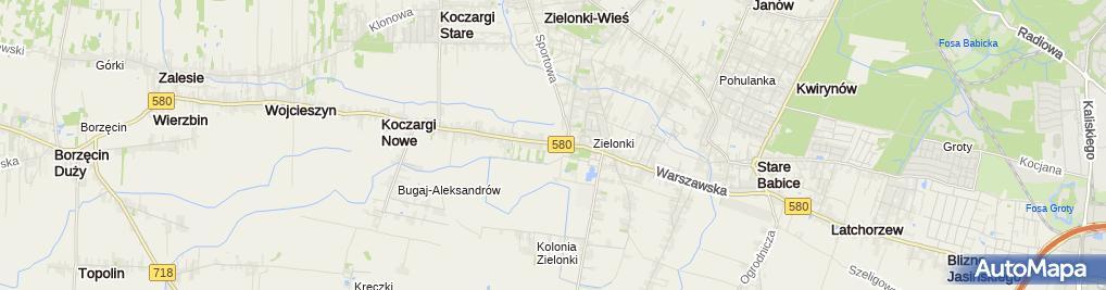 Zdjęcie satelitarne Dzieciaczkowo.pl