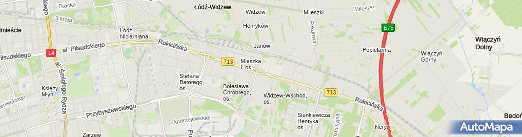 Zdjęcie satelitarne W&W Hurtownia Zielpol