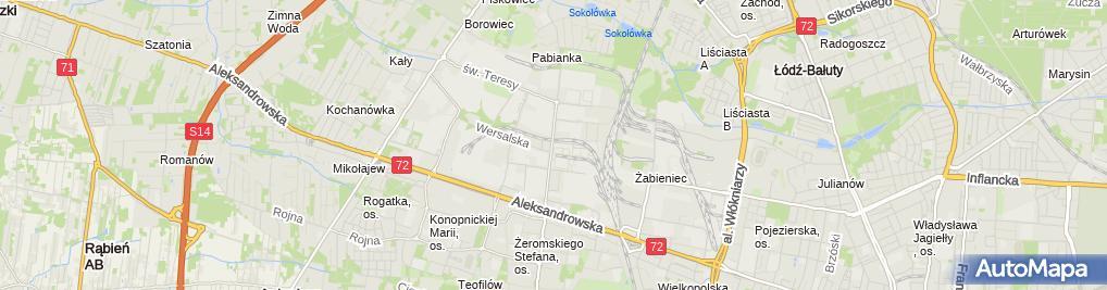 Zdjęcie satelitarne Lumier