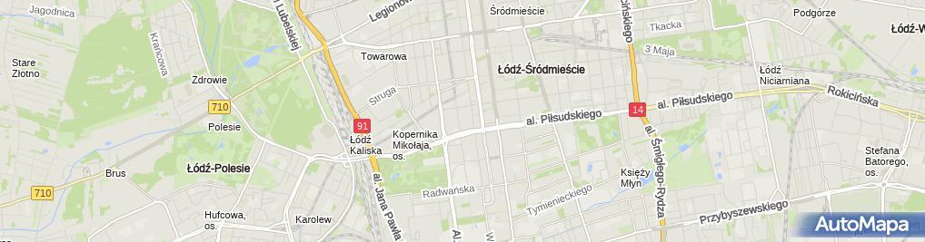 Zdjęcie satelitarne LUXI