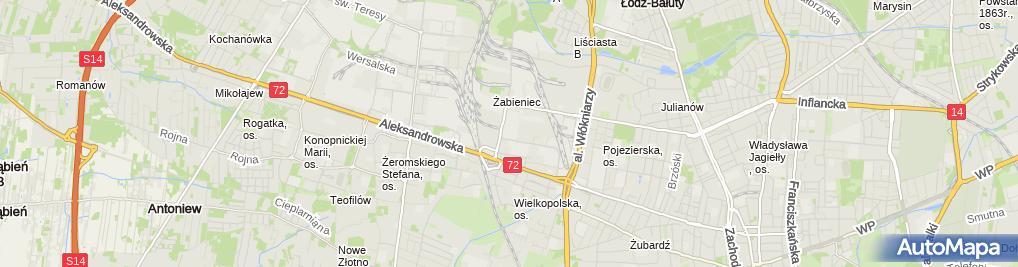 Zdjęcie satelitarne Onninen