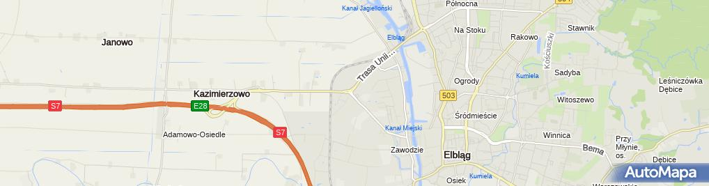Zdjęcie satelitarne AutoEL