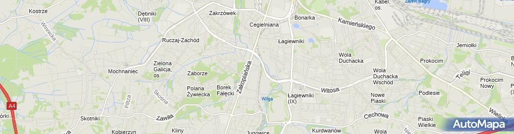 Zdjęcie satelitarne Wikar