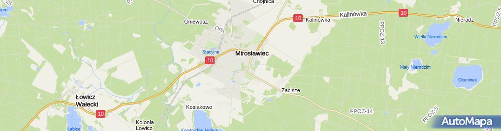 Zdjęcie satelitarne Sylwia