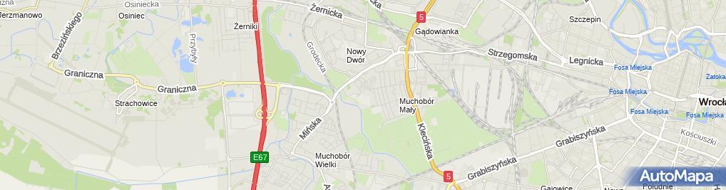 Zdjęcie satelitarne Zespół Szkół Nr 3