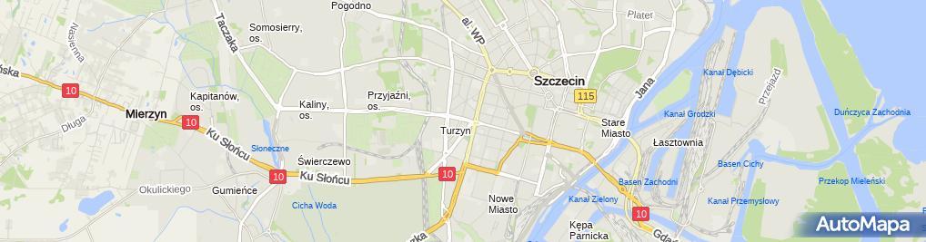 Zdjęcie satelitarne Pychtin Piotr