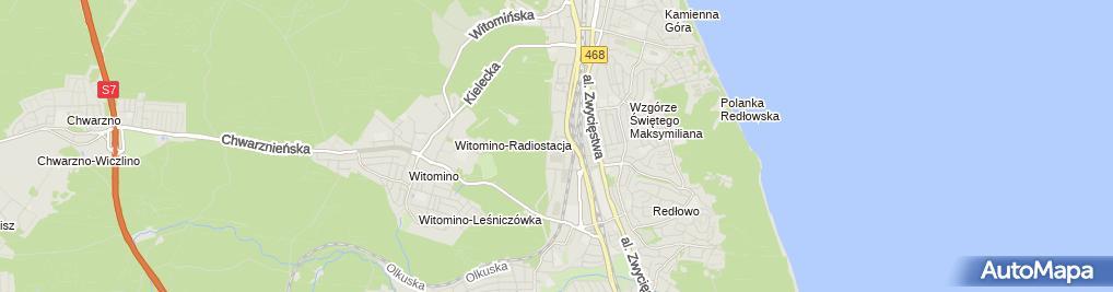 Zdjęcie satelitarne Gdynia - Hala Sportowo-Widowiskowa