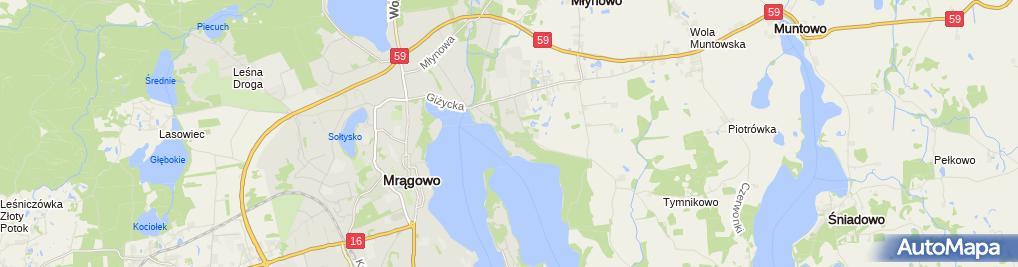 Zdjęcie satelitarne Hotel Eva