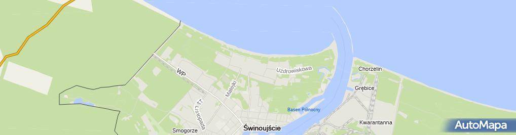 Zdjęcie satelitarne Sanatorium Trzygłów I