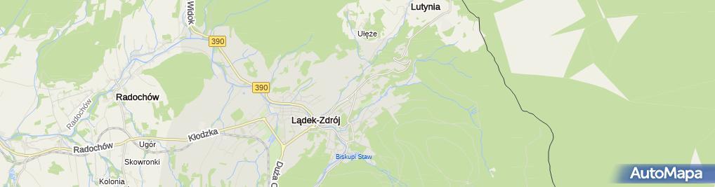 Zdjęcie satelitarne Wypożyczalnia sprzętu Szus
