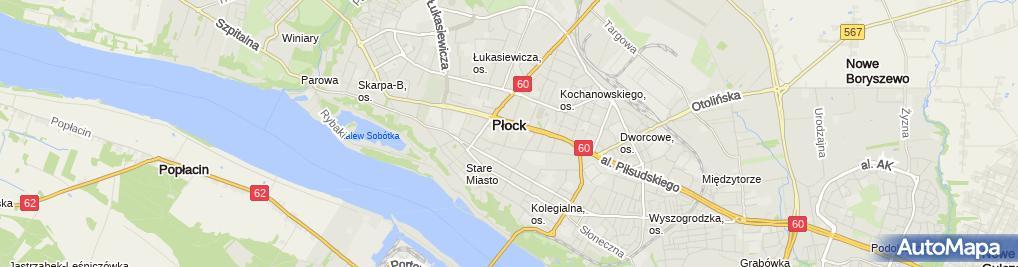 Zdjęcie satelitarne Dukat