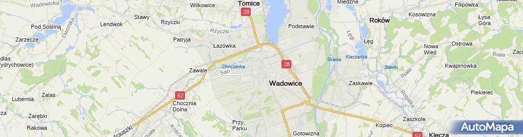 "Zdjęcie satelitarne ""Victoria"" Firma Handlowo-Usługowa Józef Skudlarski"