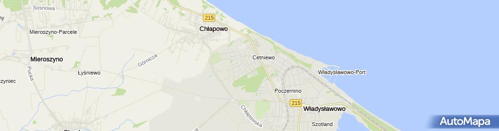 Zdjęcie satelitarne Kapliczka, Figura Świętych