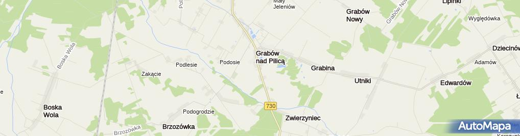 Zdjęcie satelitarne U Jankiela