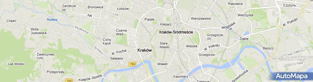 Zdjęcie satelitarne Kawiarnia Vis a Vis