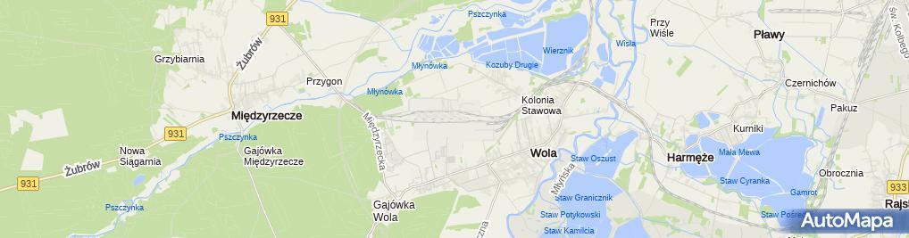 Zdjęcie satelitarne KWK Piast Ruch II