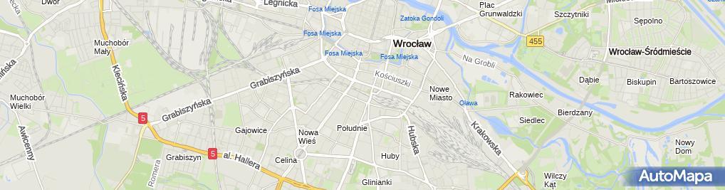 Zdjęcie satelitarne Krajowy Rejestr Karny
