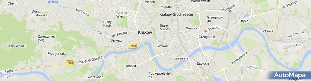 Zdjęcie satelitarne Księgarnia Archidiecezjalna