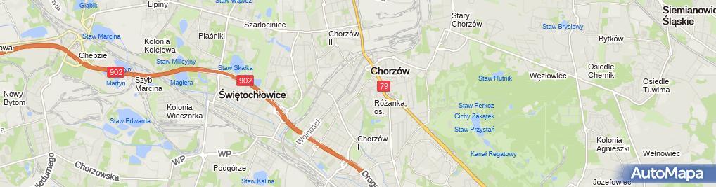 Zdjęcie satelitarne Słowak