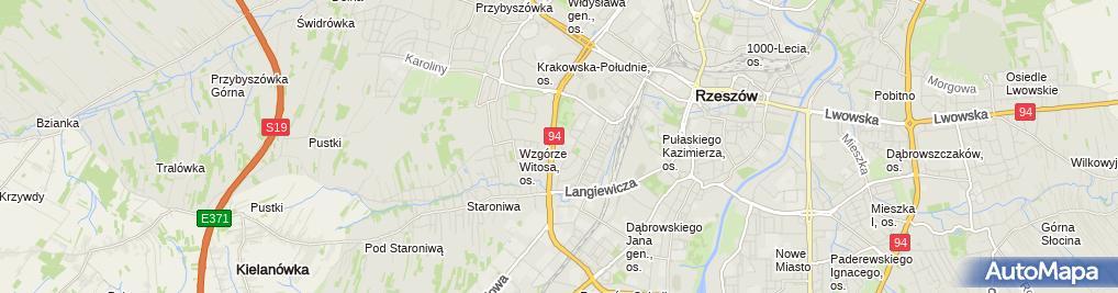 Zdjęcie satelitarne Reklama w Internecie INFINITY