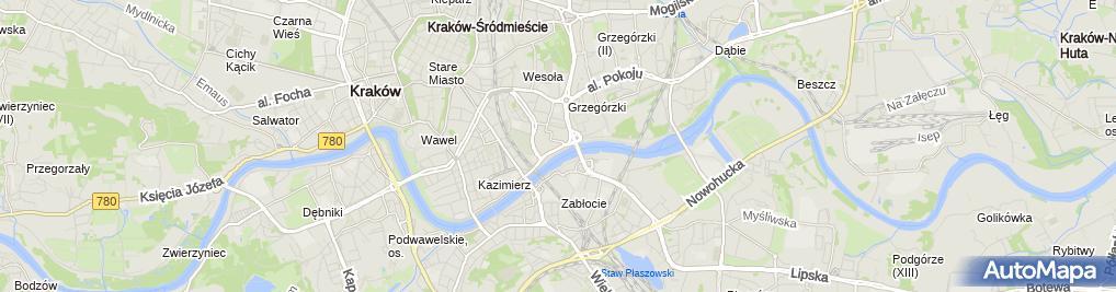 Zdjęcie satelitarne Medicover