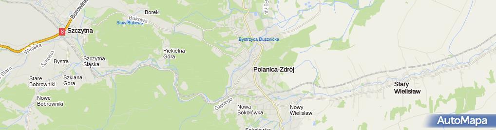 Zdjęcie satelitarne Przy Kominku