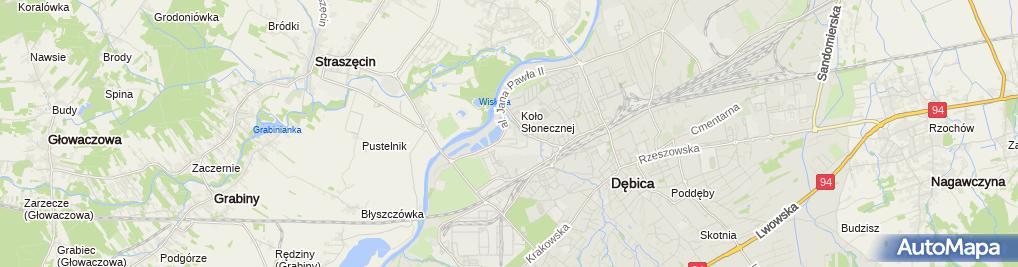 Zdjęcie satelitarne AD DAKOL