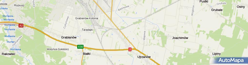 Zdjęcie satelitarne Opoltrans
