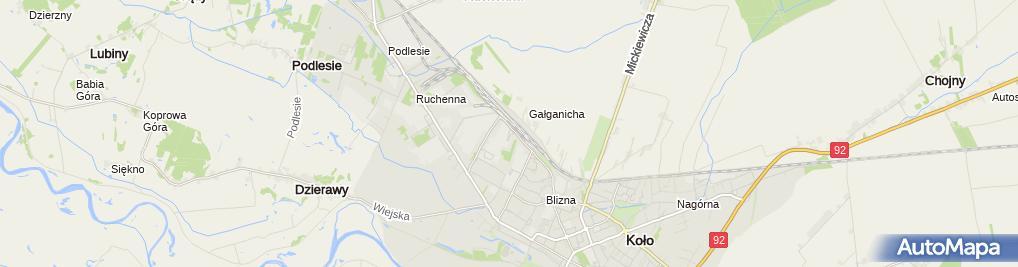 Zdjęcie satelitarne Moya