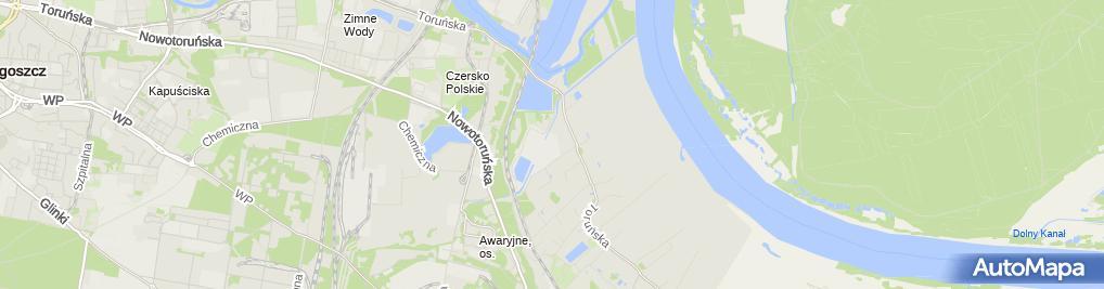 Zdjęcie satelitarne Chemwik sp. z o.o.