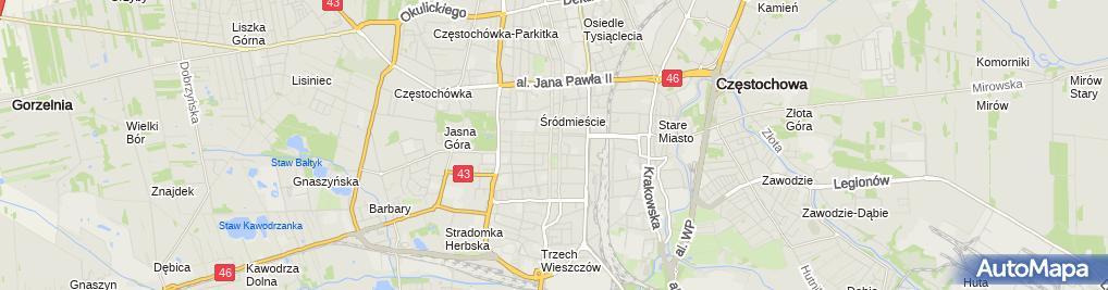 Zdjęcie satelitarne Związek Kynologiczny w Polsce