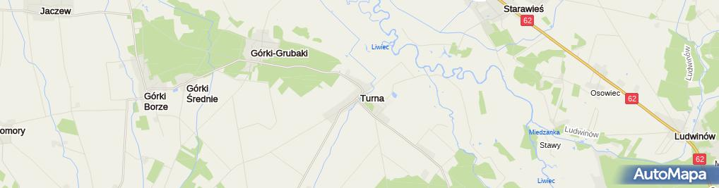 Zdjęcie satelitarne Pałac, Dwór