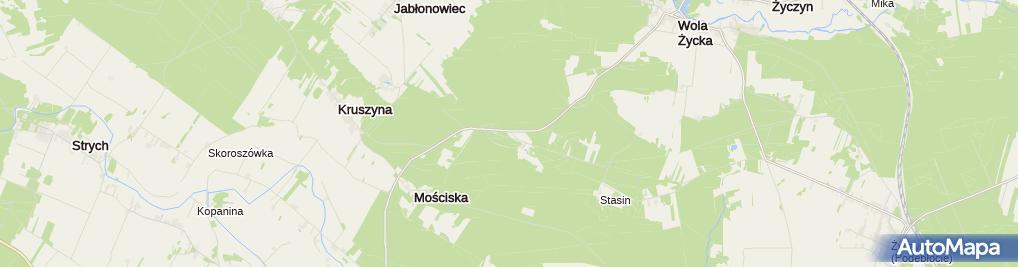 Zdjęcie satelitarne Farma Iluzji - Park edukacji i rozrywki