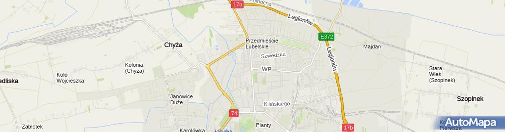Zdjęcie satelitarne Halopizza.pl