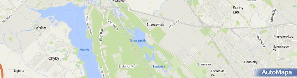 Zdjęcie satelitarne plac zabaw dla Dzieci