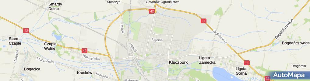 Zdjęcie satelitarne Poczta Polska