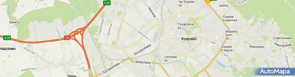Zdjęcie satelitarne Urząd Pocztowy 2