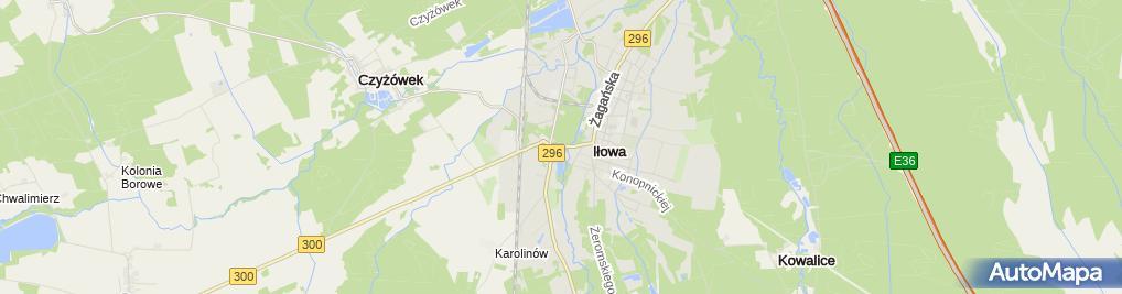 Zdjęcie satelitarne Ośrodek Pomocy Społecznej
