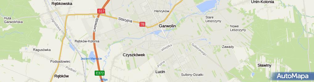 Zdjęcie satelitarne Carpol G.i J. Włodarczykowie